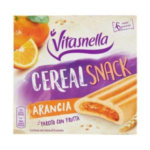 vitasnella snack arancia 6 x 27 g